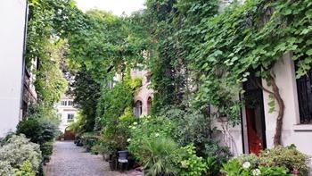 Une ruelle du 15ème arrondissement à Paris